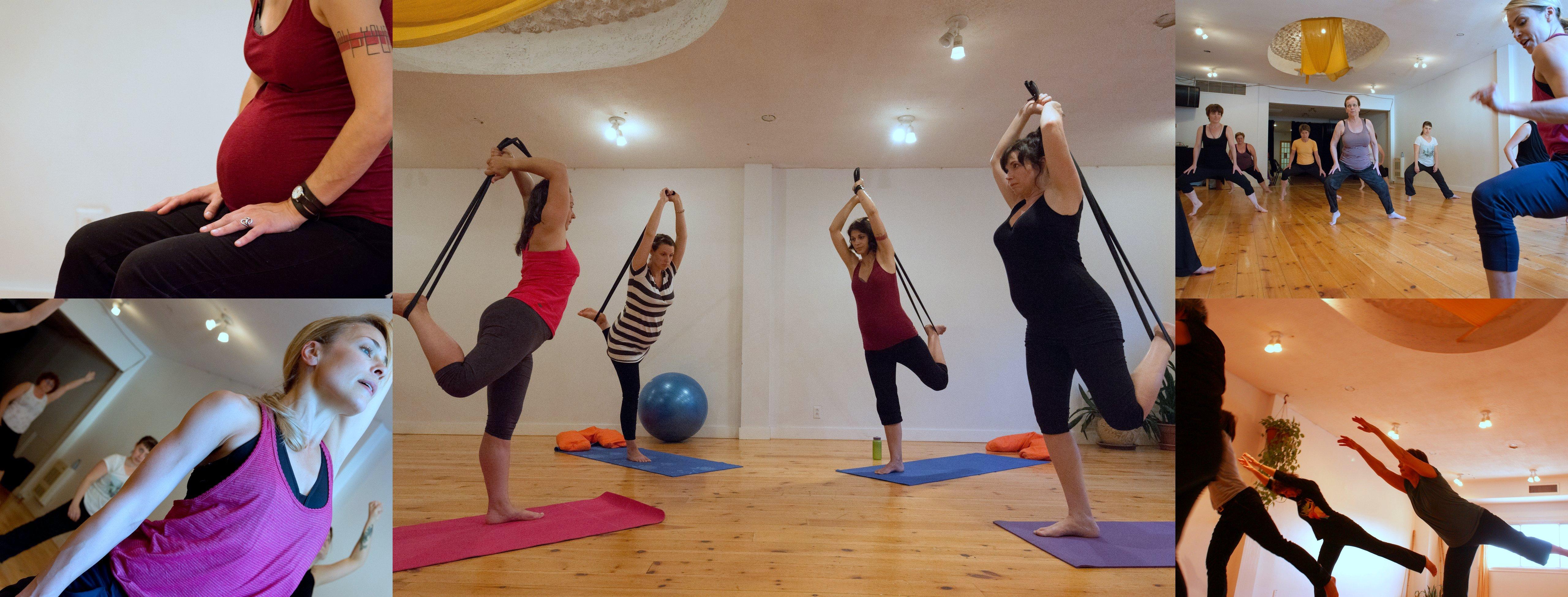 Danse contemporaine, Essentrics, Yoga, pré-post natal, venez bouger avec nous!