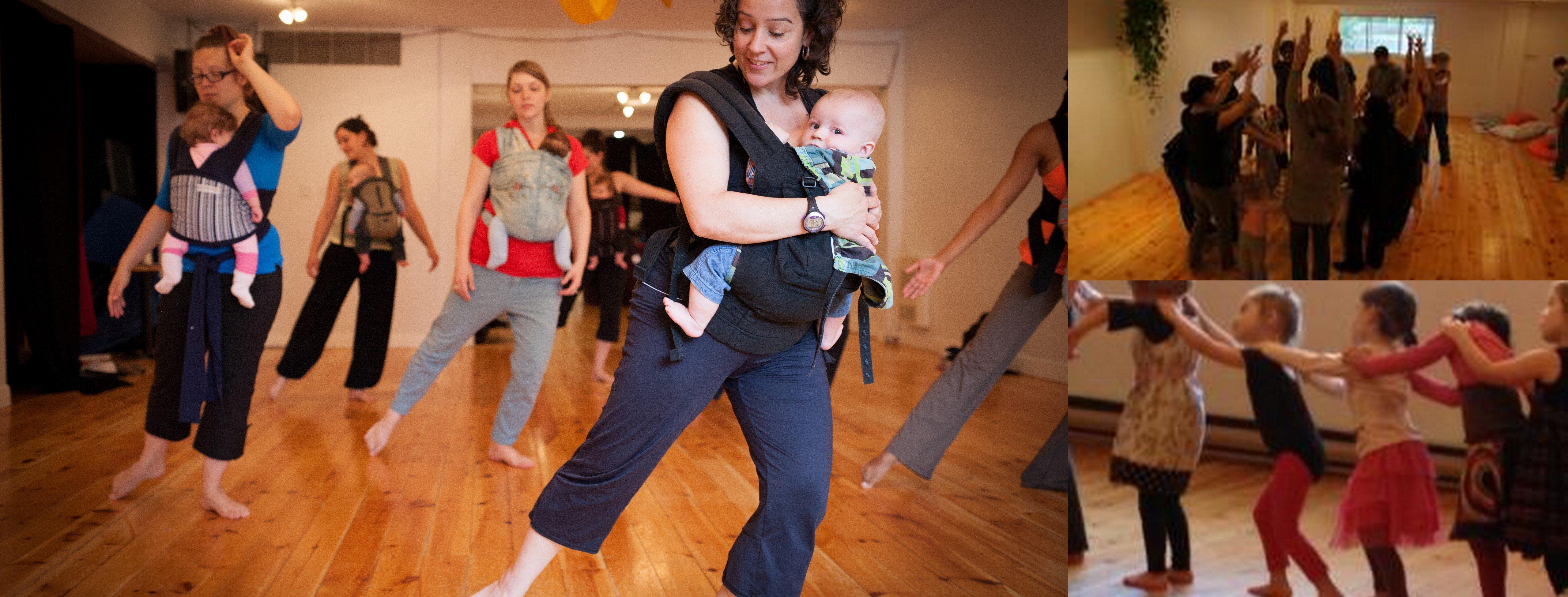 Cours de danse pour les 3 à 9 ans!